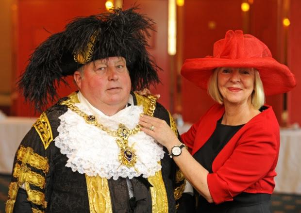 Lord Mayor Frank Jonas