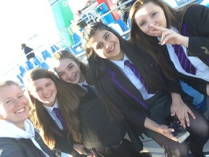 Girls Afloat Picture